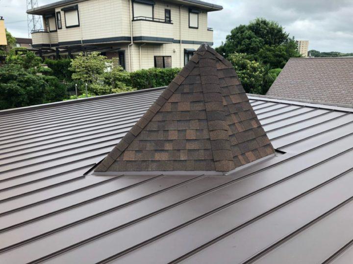屋根張替作業