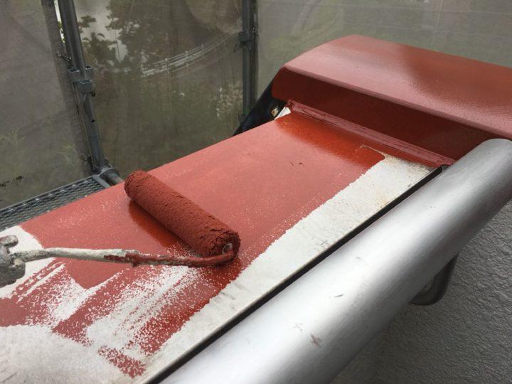 板金付帯部錆止め材塗布