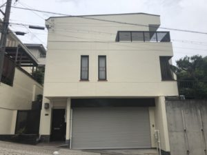 名古屋市名東区 屋根・外壁塗装工事、ベランダ防水工事