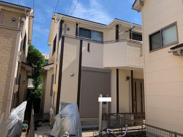 名古屋市名東区 屋根・外壁塗装工事、ベランダ防水