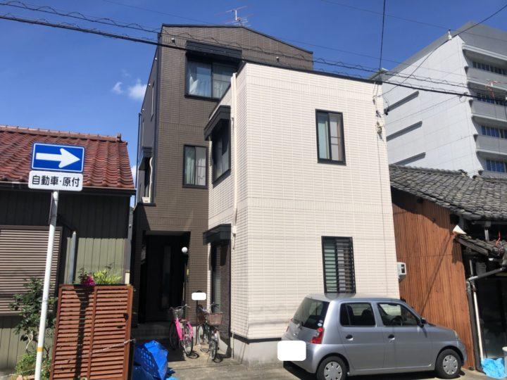 名古屋市千種区 外壁塗装工事、防水工事