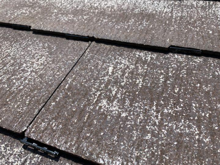 屋根 下塗り~タスペーサー挿入