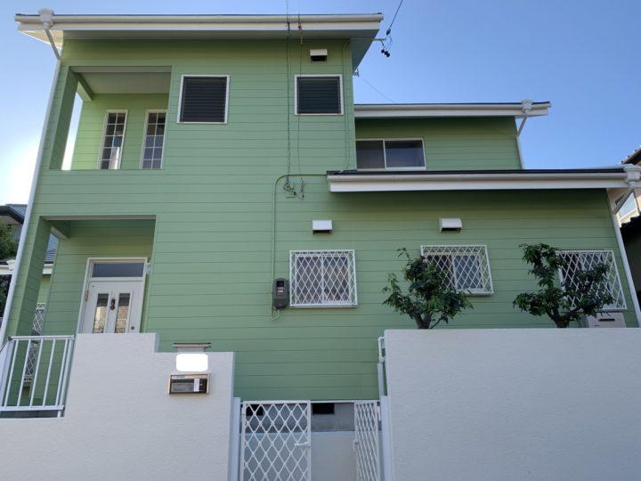 日進市 外壁塗装工事、屋根カバー工事