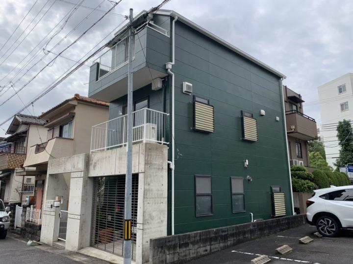 名古屋市天白区 屋根・外壁塗装工事、ベランダ防水工事