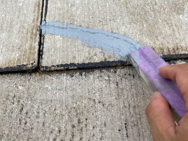 屋根 補修作業