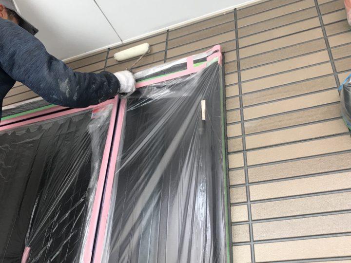 外壁 クリヤー塗装