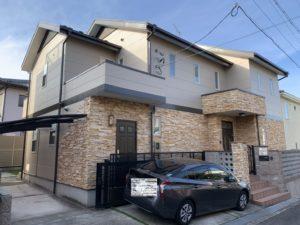 名古屋市千種区 外壁・屋根塗装工事、ベランダ防水工事