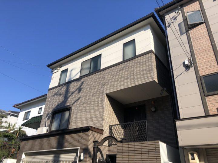 名古屋市天白区 外壁塗装工事、ベランダ防水工事