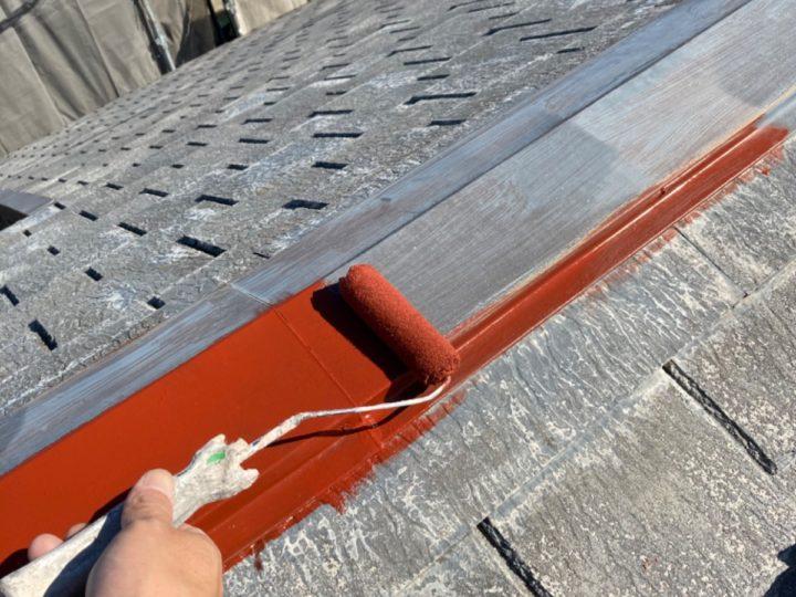 板金部 下塗り作業