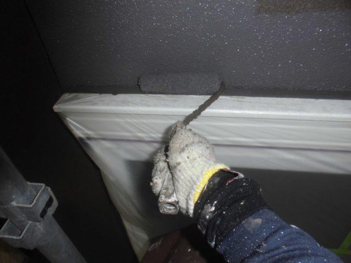 外壁 仕上げ塗り