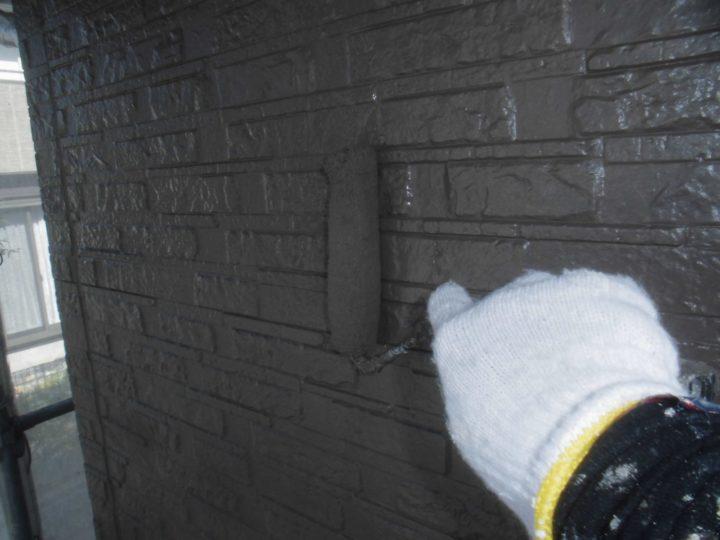 外壁 塗布作業