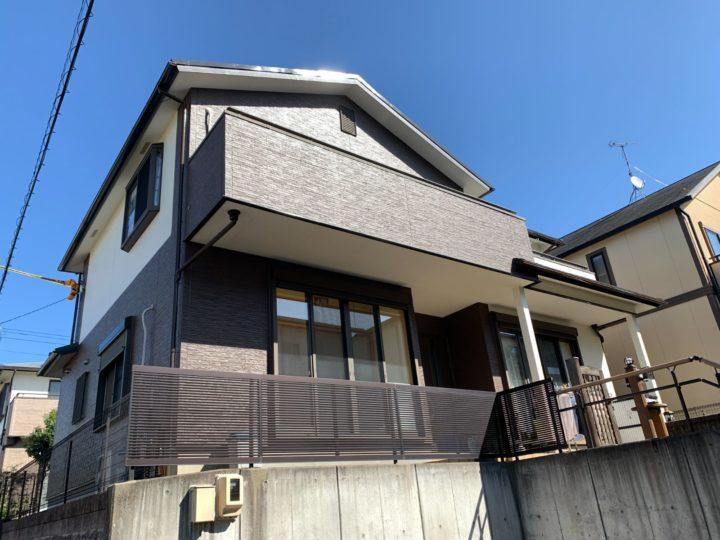 尾張旭市 屋根・外壁塗装工事、ベランダ防水工事