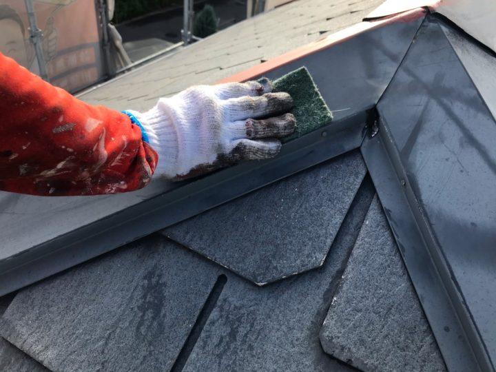 屋根 下地調整