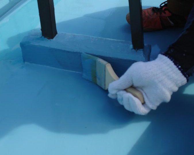 屋上 防水塗装
