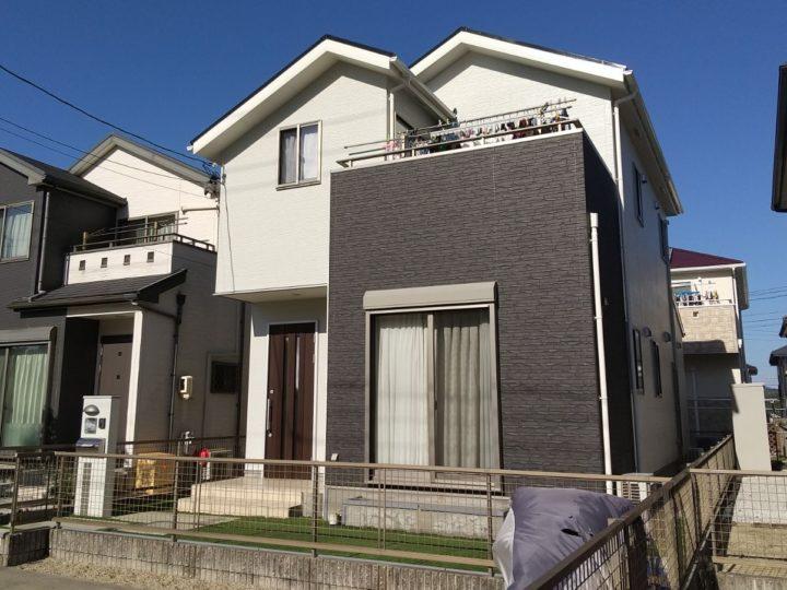 名古屋市守山区 外壁・屋根塗装工事、ベランダ防水工事