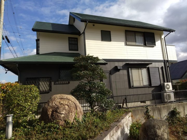 豊田市 外壁・屋根塗装工事、屋根カバー工事