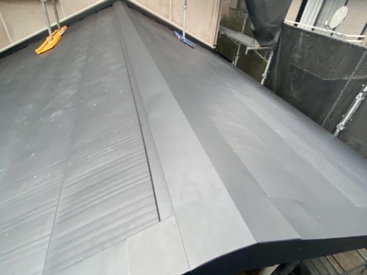 屋根 棟処理