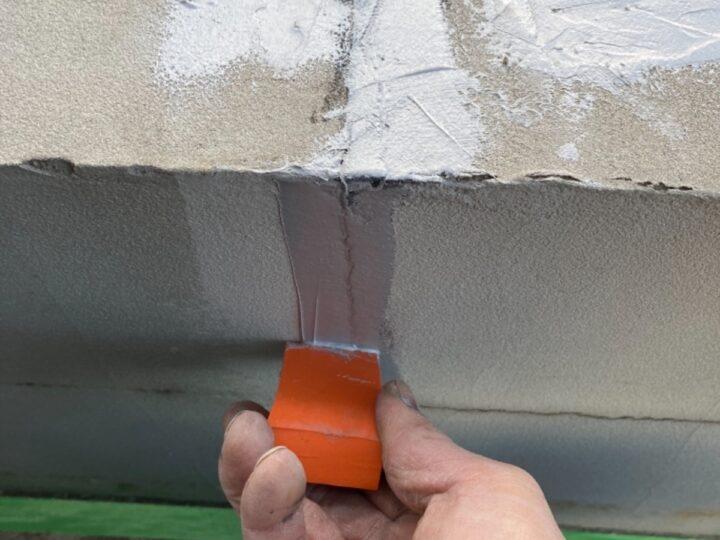 塀 補修作業