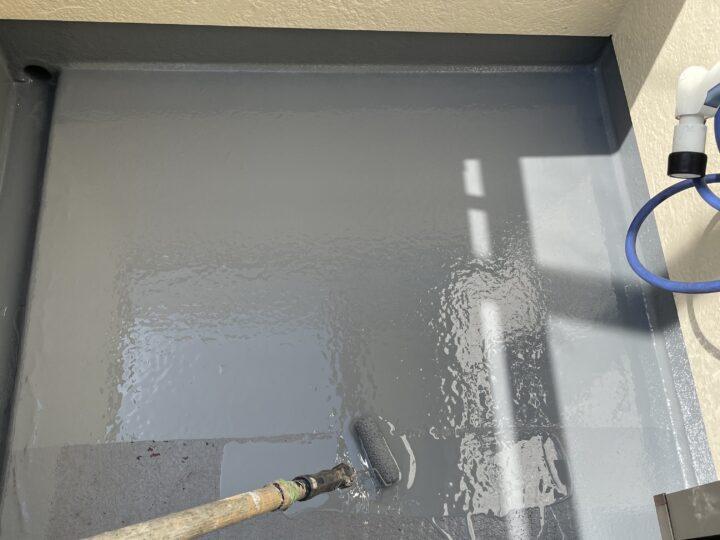 ベランダ 防水塗装工事