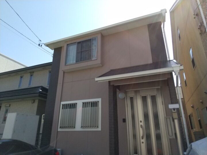 名古屋市名東区 外壁塗装工事 屋根塗装工事