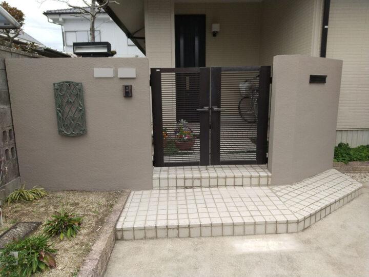 尾張旭市  屋根・外壁塗装工事・塀塗装工事