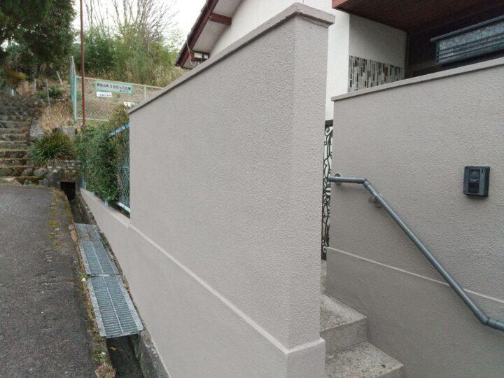 瀬戸市  屋根・外壁塗装工事・塀塗装工事