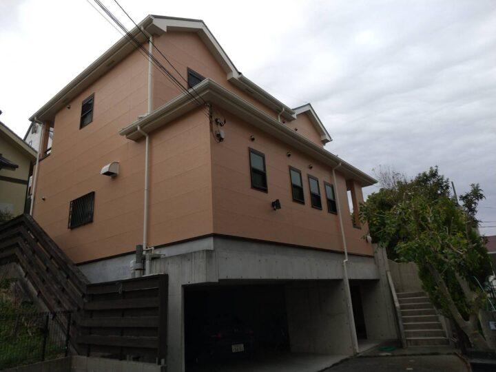 名東区 外壁塗装工事・屋根塗装工事・ベランダ塗装工事