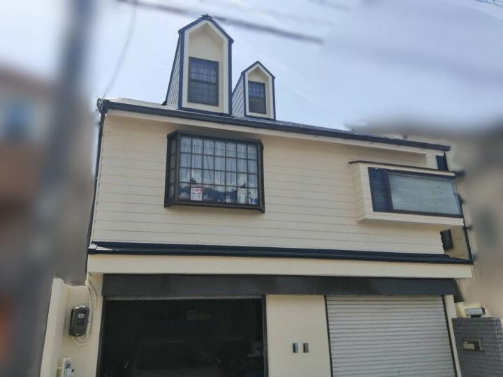 長久手市 外壁塗装工事 屋根カバー工法