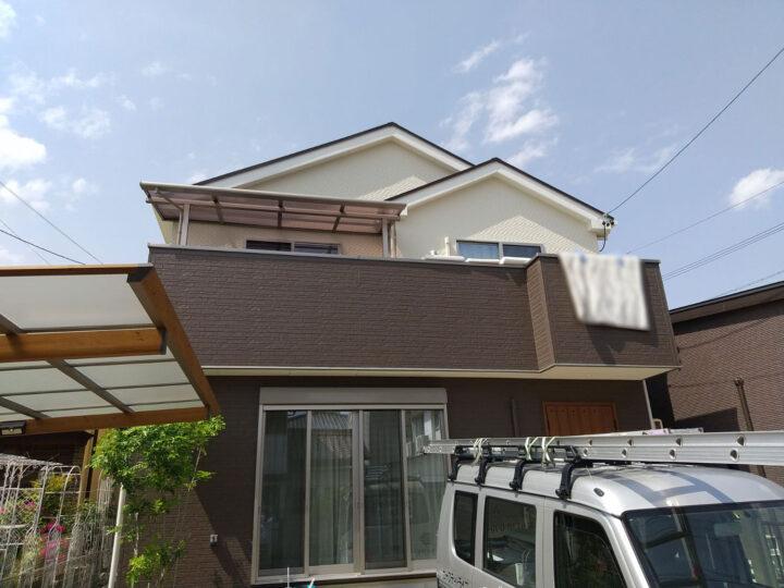 尾張旭市 外壁塗装工事 屋根塗装工事 ベランダ防水工事