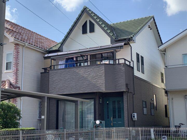 名古屋市守山区 外壁塗装工事 ベランダ防水工事