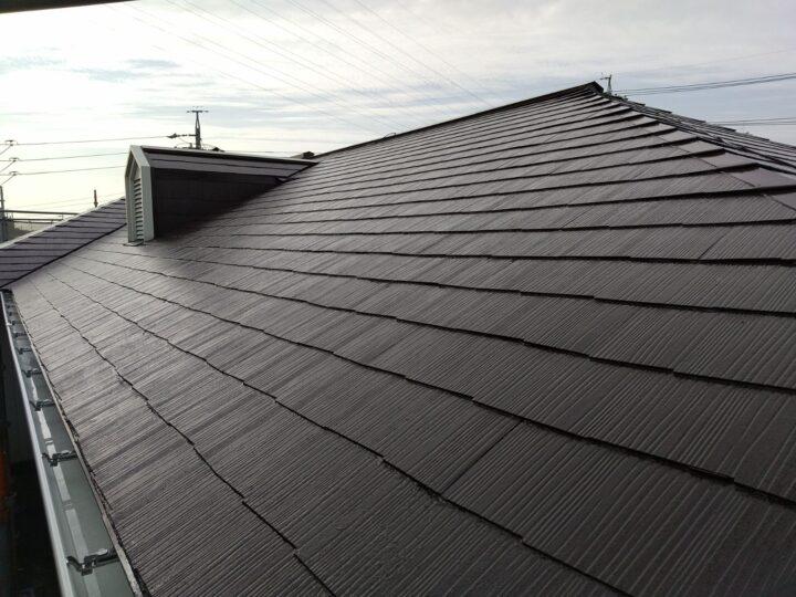 尾張旭市 屋根塗装工事