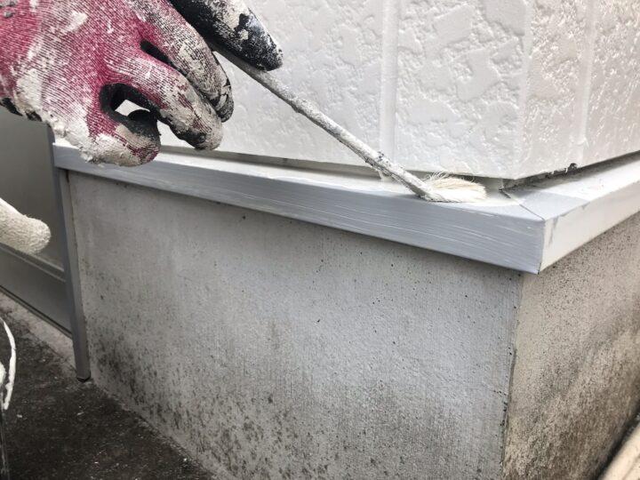 付帯部 塗装作業